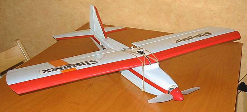 Модель самолета из пенопласта